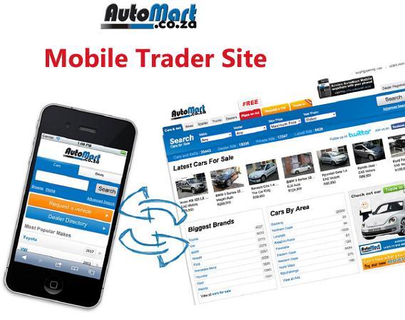 Auto Mart Mobile Trader Site