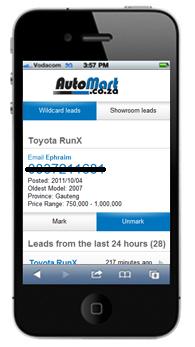 Auto Mart Mobile Leads