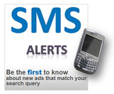Set up a SMS alert