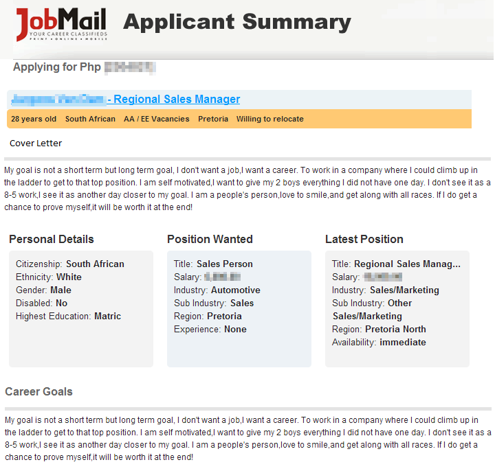 We've improved our job-ad response process! | Job Mail Blog